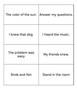 Fluency Flashcards (Fry 400 Word List)