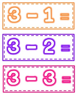 Fluency Flashcards: Math Facts to 5