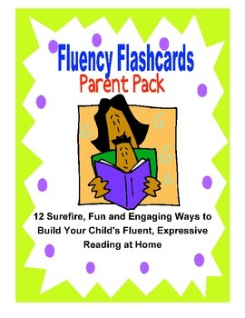 Fluency Flashcards Parent Pack