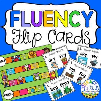 Fluency Flip Cards Set 1