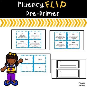 Fluency Flip Pre-Primer Words