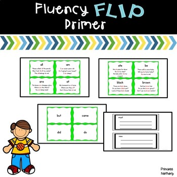 Fluency Flip Primer Words