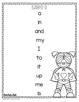 Fluency Flyers- Dolch Sight Word Practice System