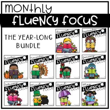 Reading Fluency ALL YEAR BUNDLE