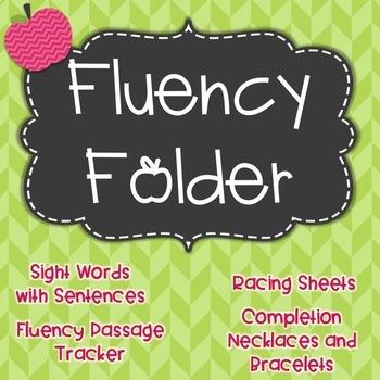 Phonics Fluency Folder