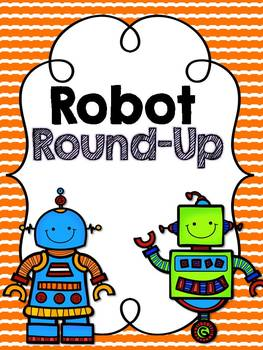 Fluency Freebie:  Round up the Robots!