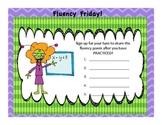 Fluency Friday Poster