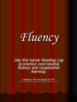 Fluency Reading Log