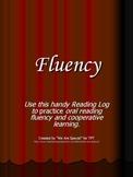 Fluency Reading Log