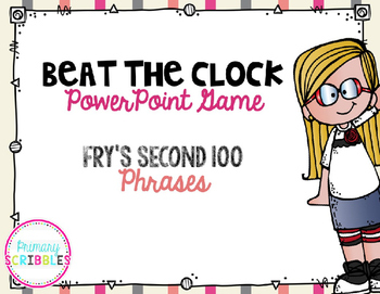 Fluency Fry's First 200 Phrases Beat the Clock Game