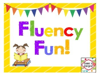 Fluency Fun! {Freebie}