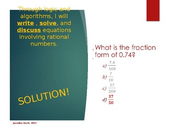 Fluency Fun: Rational Number Operations 2