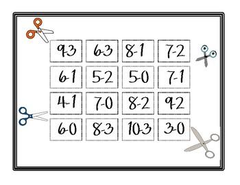 Fluency Fun: Subtraction Practice for Primary Grades