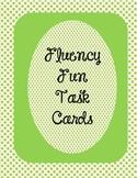 Fluency Fun Task Cards