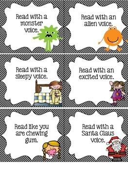 Fluency Fun Voice Cards