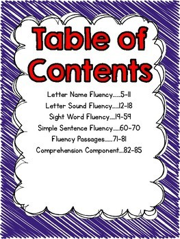 Fluency Fun for Everyone {Differentiated Roll, Read, & Write Activities}
