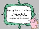Fluency Fun on the Farm- EXTENDED