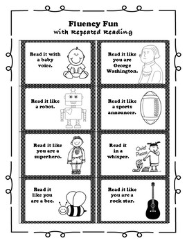 Fluency Fun with Repeated Reading