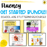 Fluency GET STARTED School-Age Bundle | Stuttering Resources
