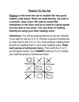 Fluency Game