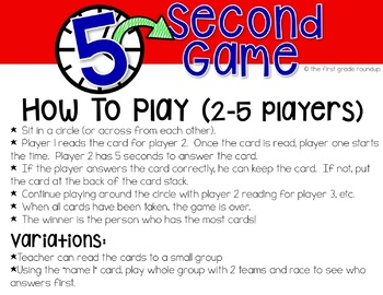 Fluency Practice Games: Language Skills