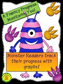 Fluency Graphs (Monster Readers Theme)