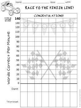 Fluency Graphs-Race Car Theme