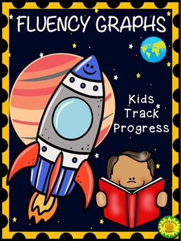 Fluency Graphs Space Rocket Theme