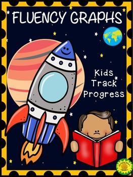 Fluency Graphs Space Rocket Theme
