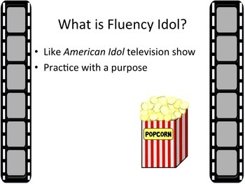 Fluency Idol- Poetry Practice with a Purpose