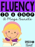 Fluency In a Snap Bundle for Speech Therapy {Stuttering}