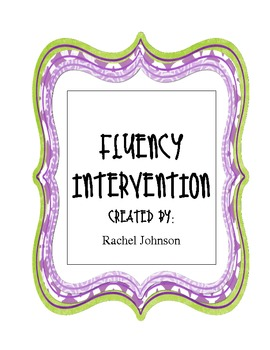 Fluency Intervention