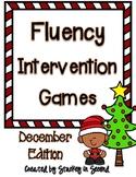 Fluency Intervention Games (December Christmas Edition)
