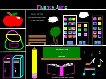 Fluency Jamz: 3-5 Basic Math Facts With Music!