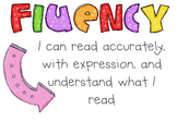 Fluency Lesson, Rubric, Practice Chart, and Letter to Parents for Grades 1-6
