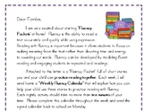 Fluency Letter for Families