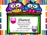 Fluency: Letters, Sight Words, Blending