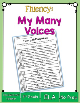Fluency: My Many Voices