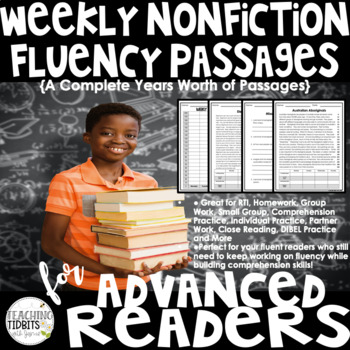 Fluency Passages for Advanced Readers Nonfiction Passages - Entire Years Worth