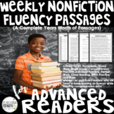 Fluency Passages - Nonfiction Fluency Passages with Compre