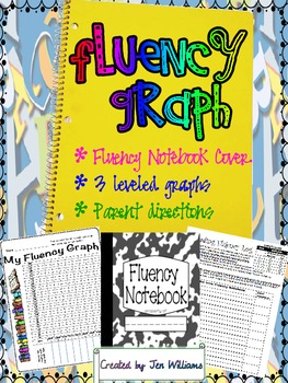 Fluency Notebook Log Sheet and Graph