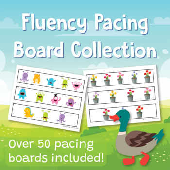 Fluency Pacing Board Collection: Over 50 Pacing Boards Included