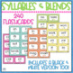 Fluency Practice Pack #1 Syllables and Blends