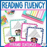 Reading Fluency Practice Activity Pyramid Sentences