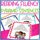 Reading Fluency Pyramid Sentences