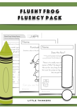 Fluency Pack: daily practice pages and hands-on resources