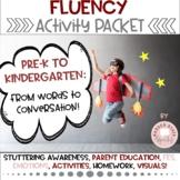 Stuttering Fluency Therapy Activities Preschool Kindergarten