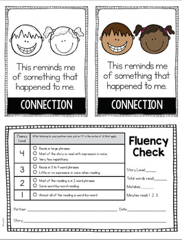 Reading Comprehension Passage Fluency 2nd 3rd Grade FREE