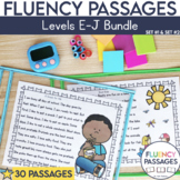 Fluency Passages 1st Grade Bundle: Set 1 and 2 {Level E-J}