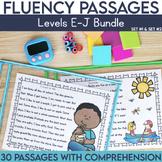 Fluency Passages 1st Grade Bundle: Set 1 and 2 {Level E-J}